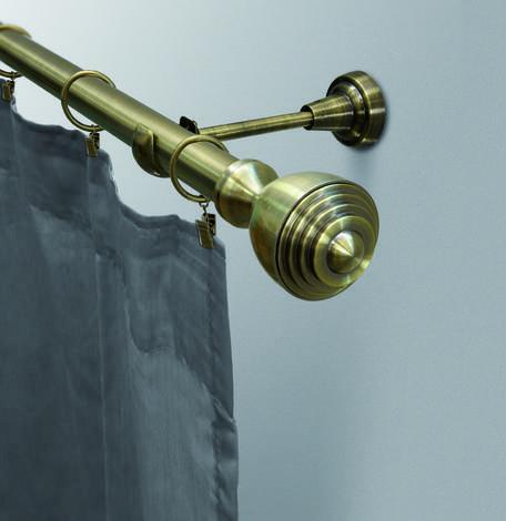 Корниз Сатурн 160 см месинг