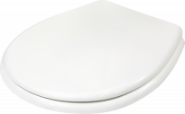 Капак пластмасов бял