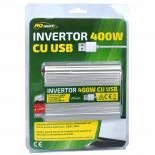 Инвертор 12V -220V , 400W