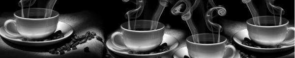 Принт гръб с кафе и напитки, код 045