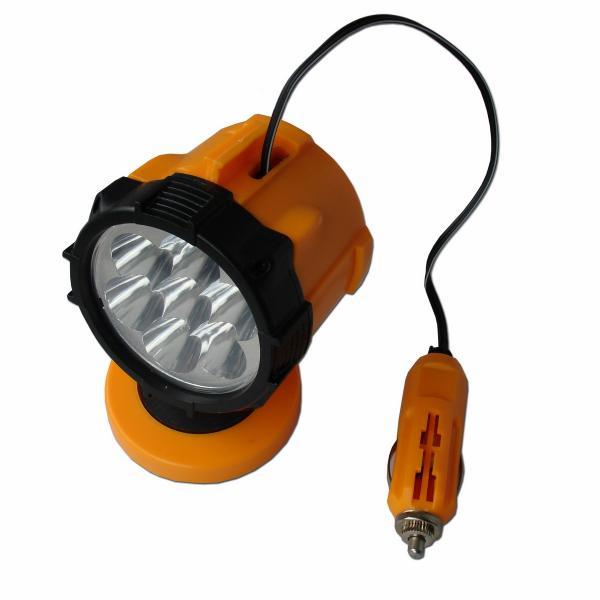 Работна лампа 12V 7 LED  магнит