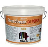 Декоративна шпакловка Stucco DI PERLA 1.25л, злато