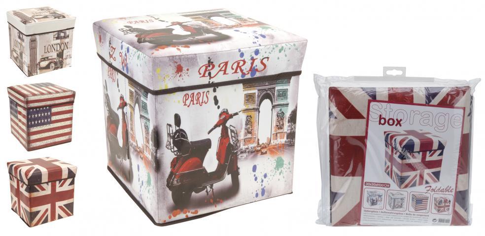 Кутия за съхранение и сядане