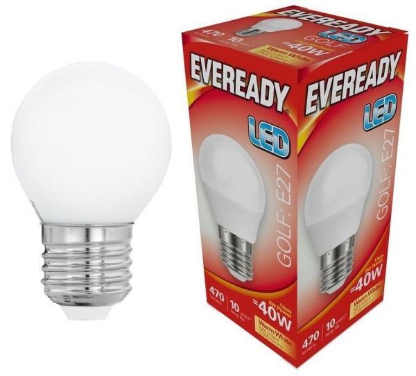 LED крушка 6W Е27 470LM 3000К