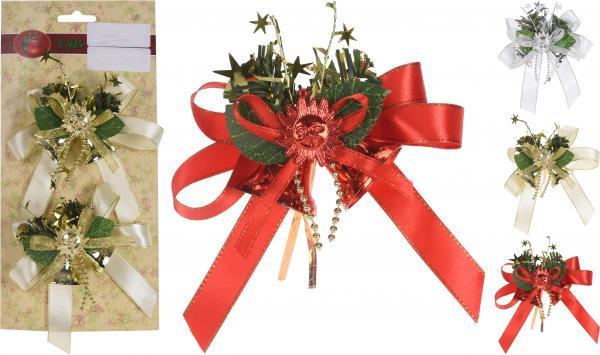 Коледни камбанки 2 броя в к-кт