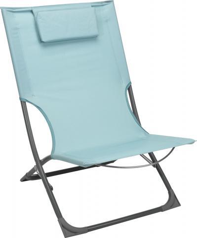 Сгъваем къмпинг стол син