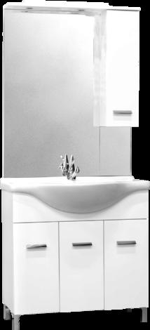 Мебел за баня SMART 85 с  халогенно осветление