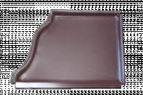 Тапа дясна пластифицирана RAL8017