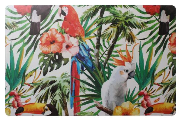 Подложка за хранене Papugi 44x28 см