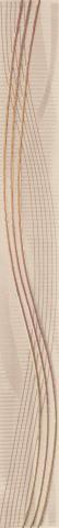 Феиз за баня Gemma beige 4,5x40 см