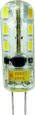 LED крушка G4 2.5W 220V 2700K SMD 250lm