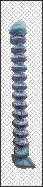 Поцинкована оградна мрежа 125 см / 10 м