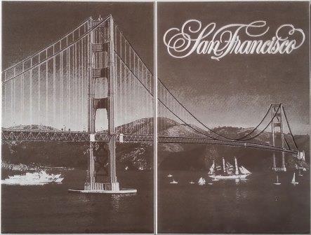 Декор Golden Gate 50x40