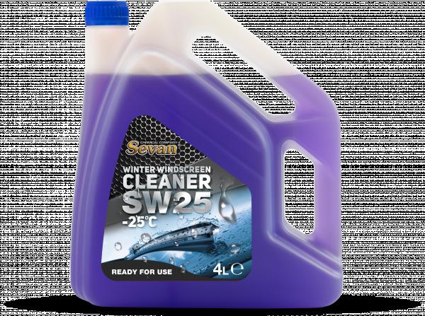Зимна течност за чистачки SW25 -25°С 4л