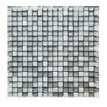 Стъклено-каменна мозайка сив