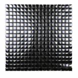 Стъклена мозайка черен/бял