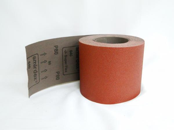 Шкурка текстилна основа 120мм P80