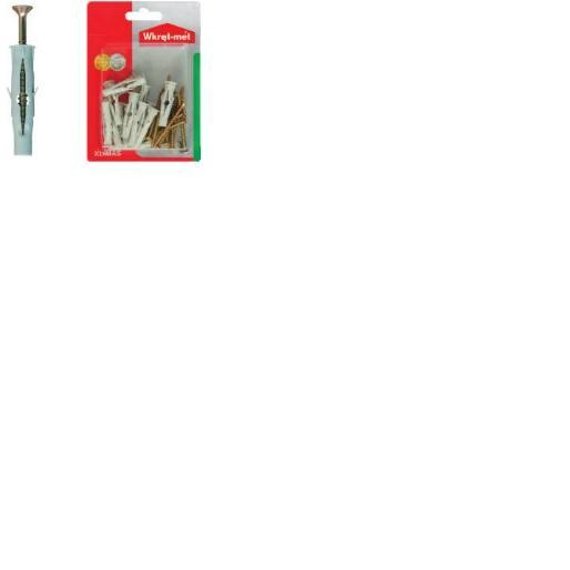 Дюбел универсален винт фрез BRU-8x60