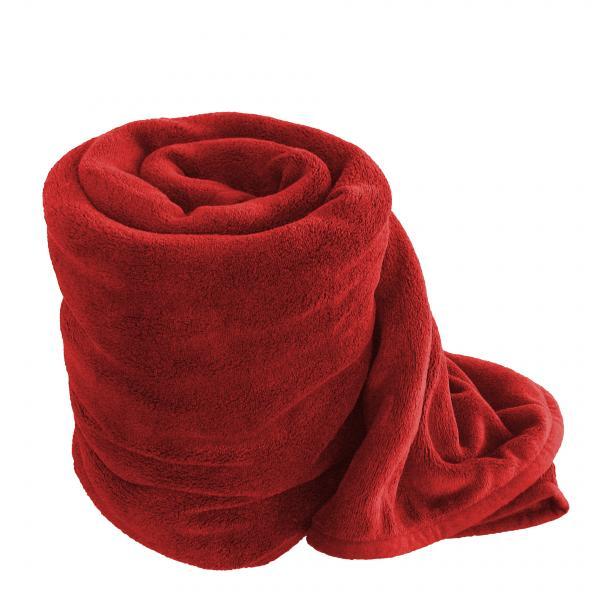 Одеяло 150х200 см червено