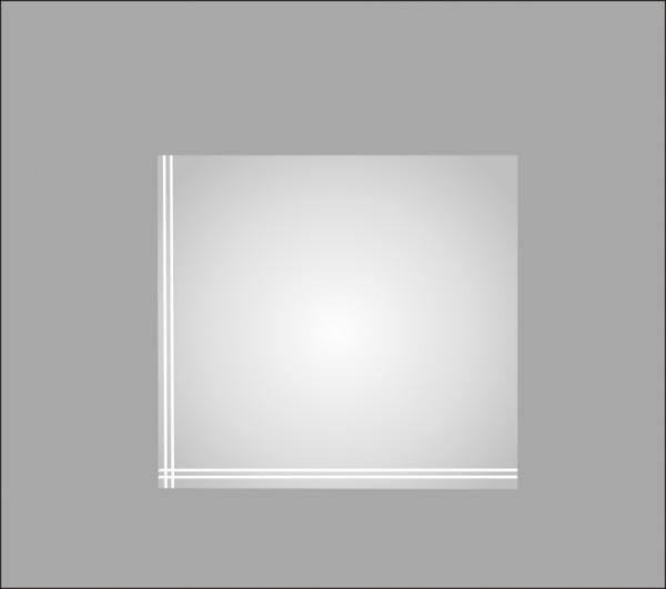 Огледало за баня ''Нарцис'' 50х40