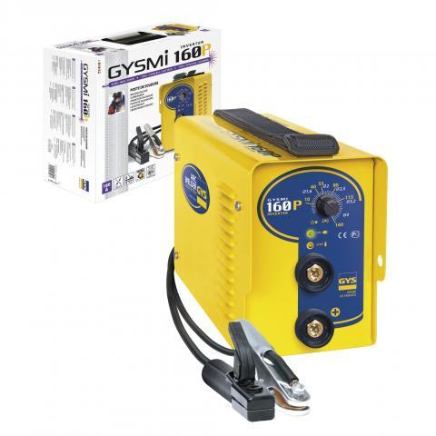 Преносим инверторен електрожени GYSMI 160 P