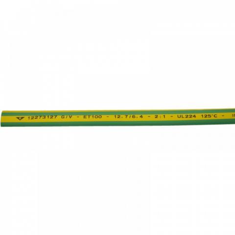 Термосвиваем шлаух 3.2/2.4 жълто-зелен Elematic
