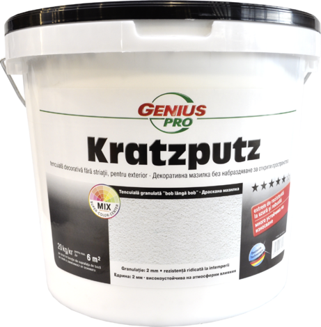 GP Kratzputz 2,0mm 20kg
