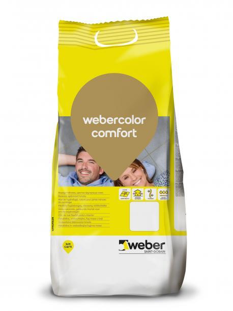 фугираща смес webercolor комфорт G117 Перлено сиво