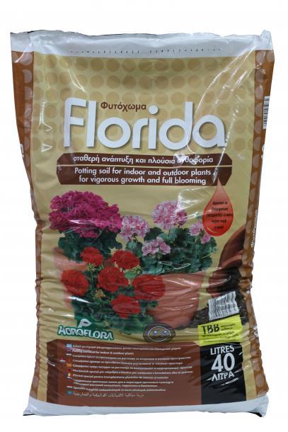 Florida Почва за балконски растения 40л