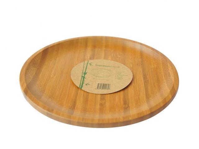 Бамбукова чиния, голяма, 28 см 2