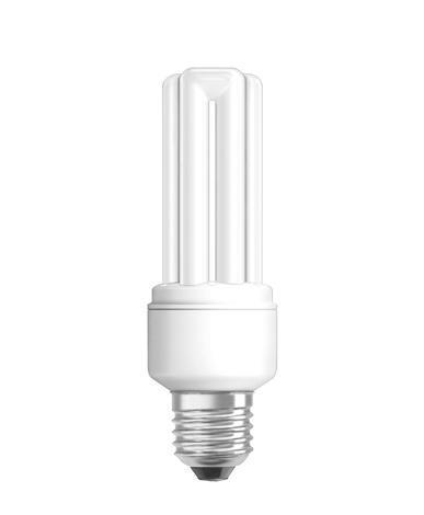 Енергостяваща лампа стик 15W Е27,топла св.,стик