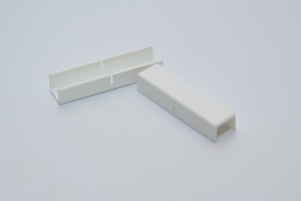 Снадка - удължител за двуканална PVC релса - 2 бр.