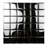 Стъклена мозайка черен