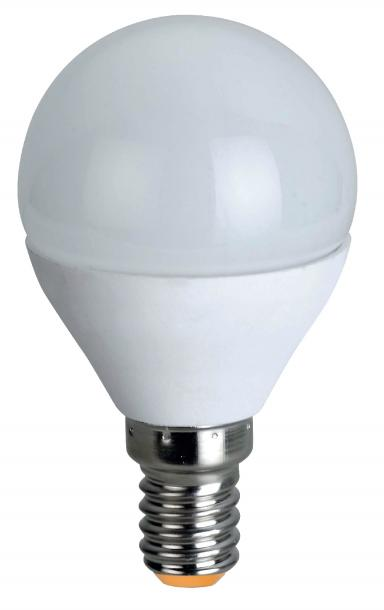 LED крушка Е14 6W малък балон 2700К 488lm
