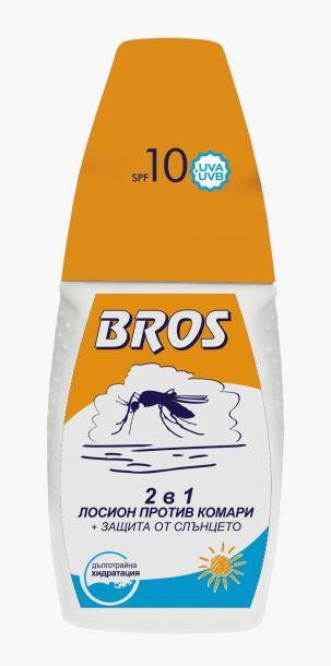 БРОС 2 в 1 - лосион п/в комари