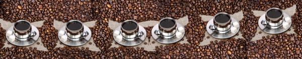 Принт гръб с кафе и напитки, код 034
