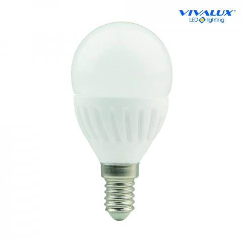 LED крушка 9W E14 4000K 868Lm, балонче