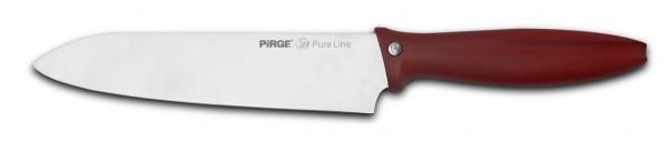 Нож готварски 21cm ЧЕРВЕН- PURE LINE