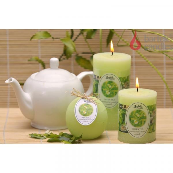 Свещ Рустик блок 70х90 см зелен чай