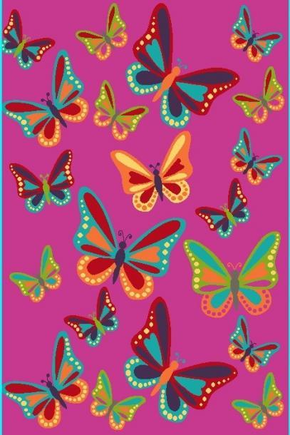 Килим SMART 8f38A pink, 120/180