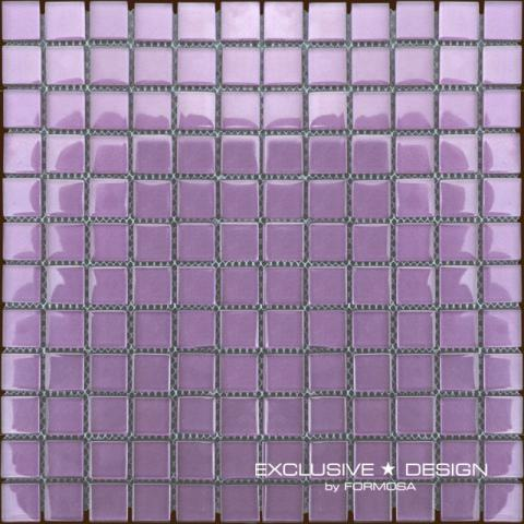 Стъклена мозайка лилав