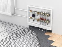 Монтиране на водно подово отопление