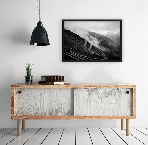Картина с дървена рамка Premium ''Път'' 2