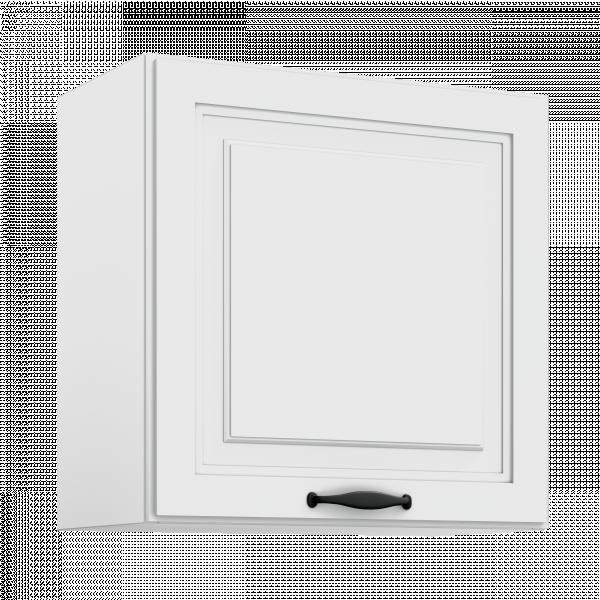 Горен шкаф с една врата Gaja White