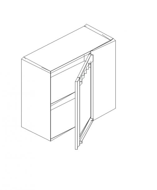 Талпи горен ъглов шкаф 60х29х71.5