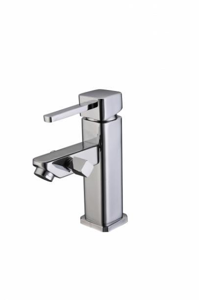 Стоящ смесител умивалник/душ