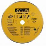 Диамантен диск за мокро рязане на керамика DeWalt 250mm
