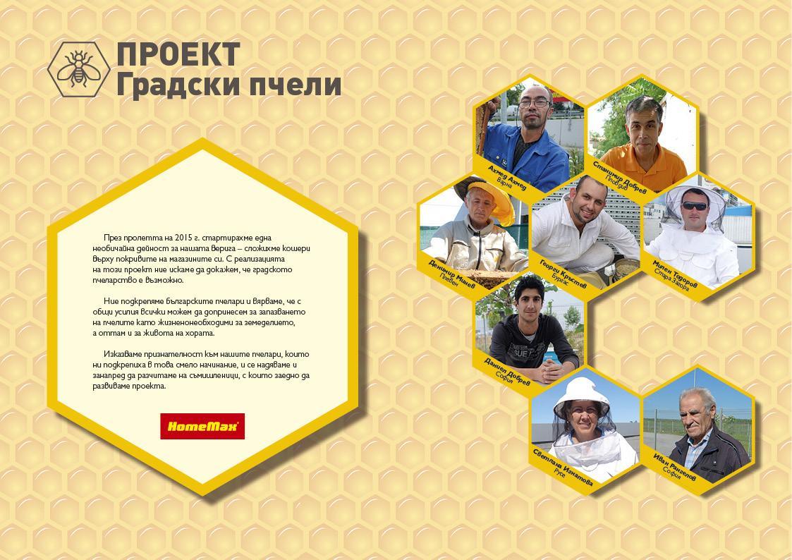 Градските пчели на HomeMax