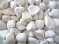 Бял мрамор 20-32мм 15 кг