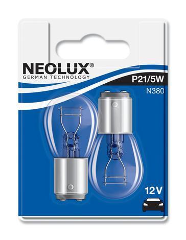 Aвт.лампа21/5W 12V BAY15D NEOLUX